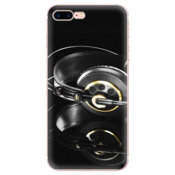 Odolné silikonové pouzdro iSaprio - Headphones 02 - iPhone 7 Plus