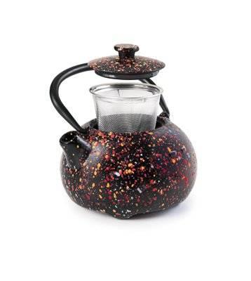 Litinová konvička na čaj Graffiti 350ml