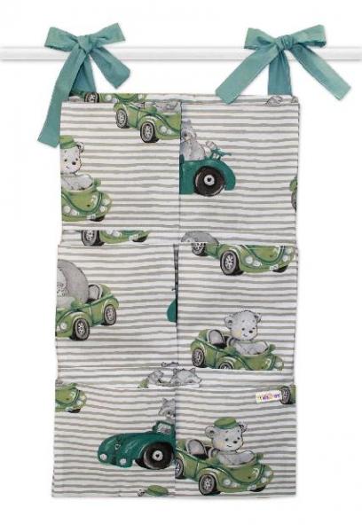 bavlneny-kapsar-na-postylku-baby-nellys-6-kapes-baby-car-zelena