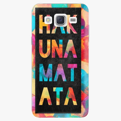 Plastový kryt iSaprio - Hakuna Matata 01 - Samsung Galaxy Core Prime