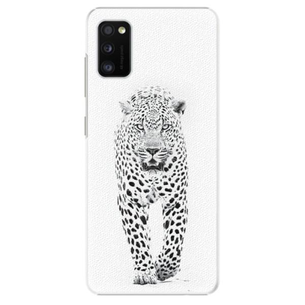 Plastové pouzdro iSaprio - White Jaguar - Samsung Galaxy A41
