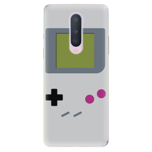Odolné silikonové pouzdro iSaprio - The Game - OnePlus 8
