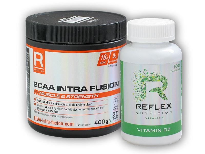 BCAA Intra Fusion 400g + Vitamin