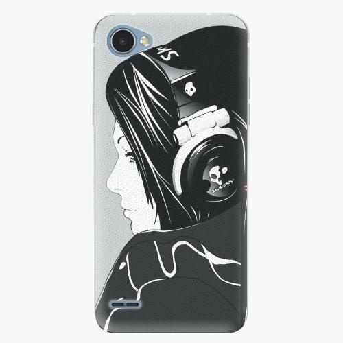Plastový kryt iSaprio - Headphones - LG Q6
