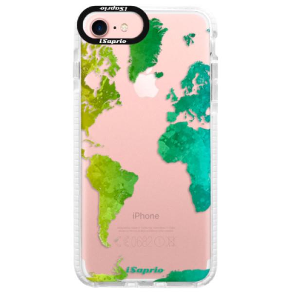Silikonové pouzdro Bumper iSaprio - Cold Map - iPhone 7