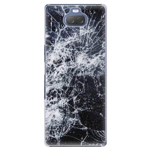 Plastové pouzdro iSaprio - Cracked - Sony Xperia 10