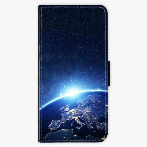 Flipové pouzdro iSaprio - Earth at Night - Samsung Galaxy S7 Edge