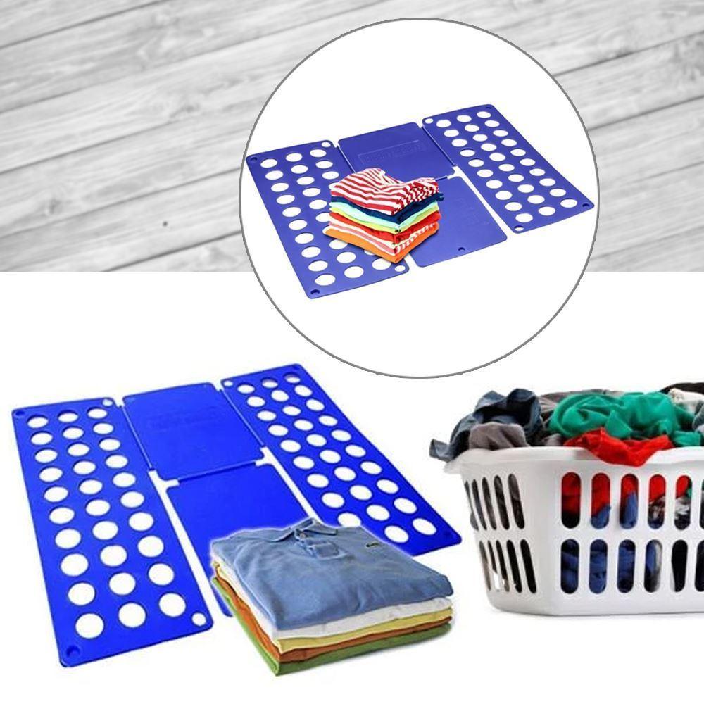 Deska na rychloskládání oblečení Modrá