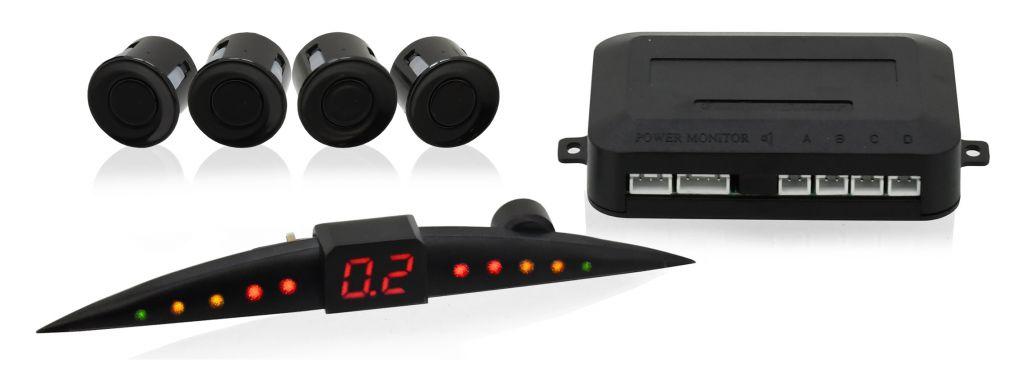 Parkovací asistent - 4 senzory, LED display