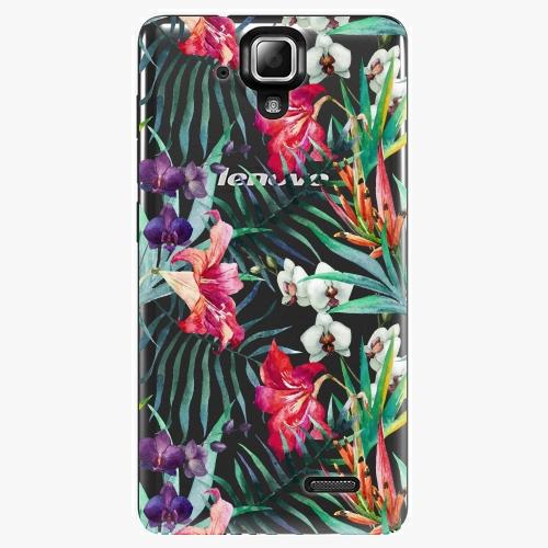 Plastový kryt iSaprio - Flower Pattern 03 - Lenovo A536