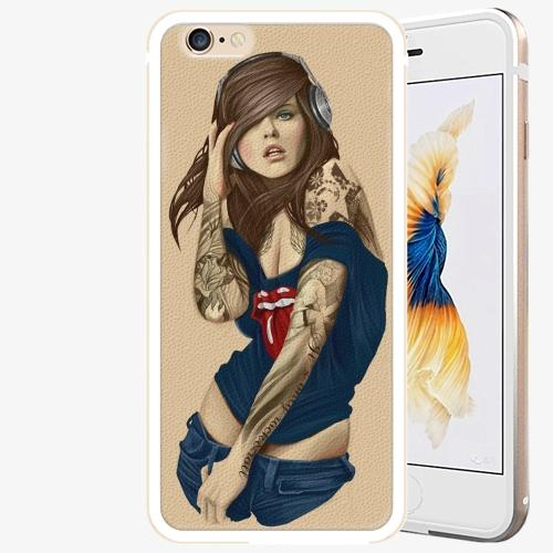 Plastový kryt iSaprio - Girl 03 - iPhone 6 Plus/6S Plus - Gold