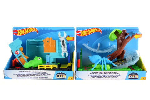 Hot Wheels City utkej se s příšerou FNB05