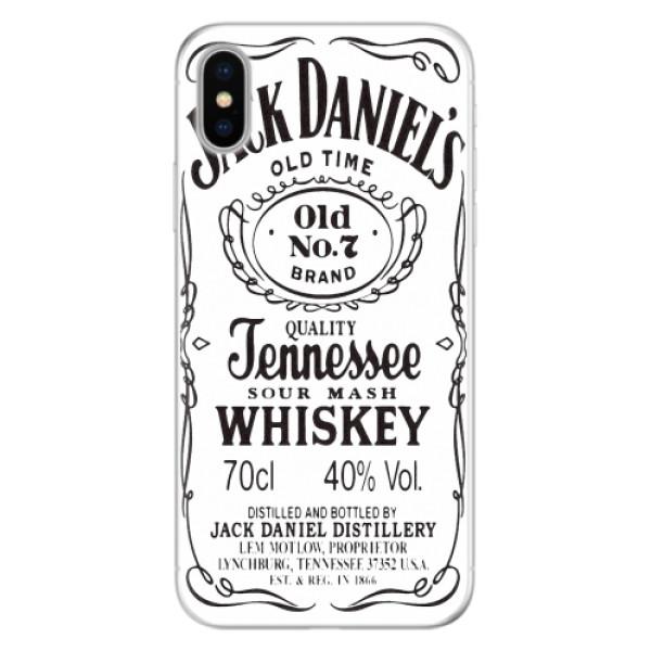 Silikonové pouzdro iSaprio - Jack White - iPhone X