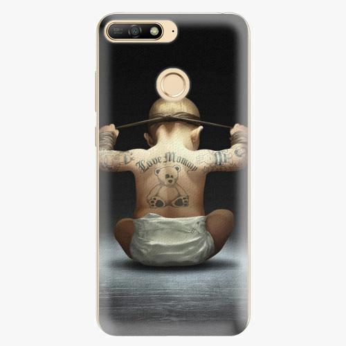 Silikonové pouzdro iSaprio - Crazy Baby - Huawei Y6 Prime 2018