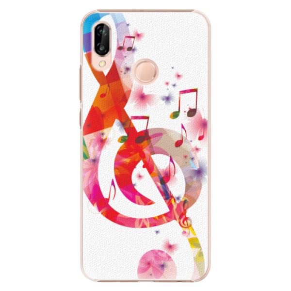 Plastové pouzdro iSaprio - Love Music - Huawei P20 Lite