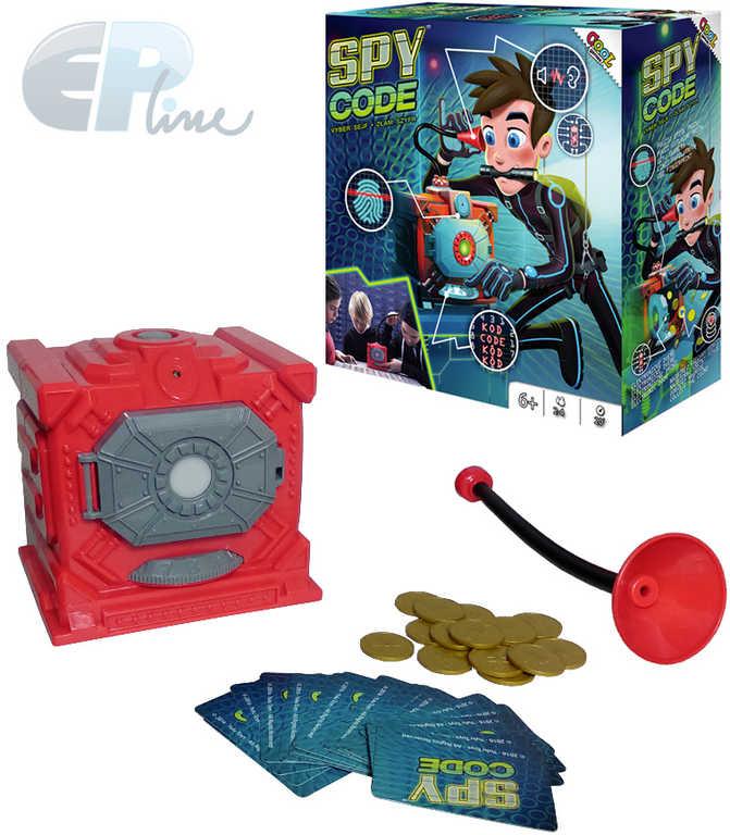 EP line HRA Cool Games Spy Code loupežnická mise na baterie Světlo *SPOLEČENSKÉ HRY*