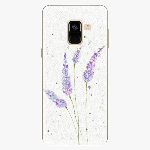 Plastový kryt iSaprio - Lavender - Samsung Galaxy A8 2018