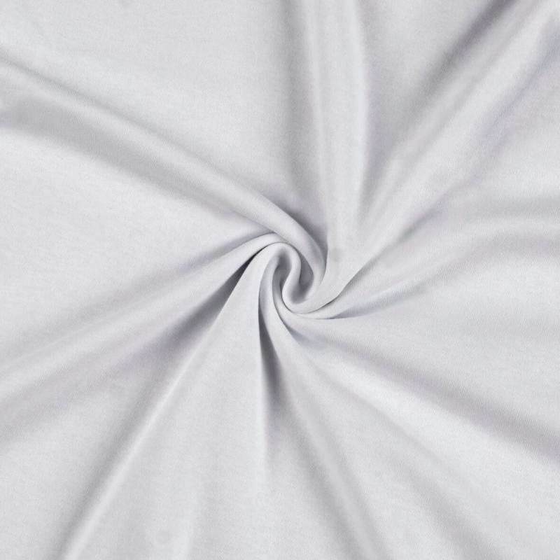 Jersey prostěradlo 200x200cm II.jakost, Barva 001 bílá