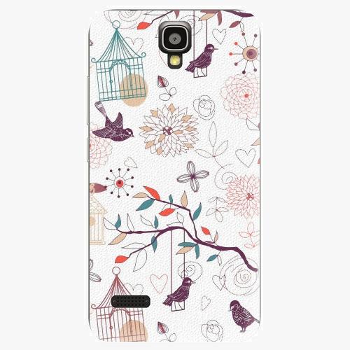 Plastový kryt iSaprio - Birds - Huawei Ascend Y5