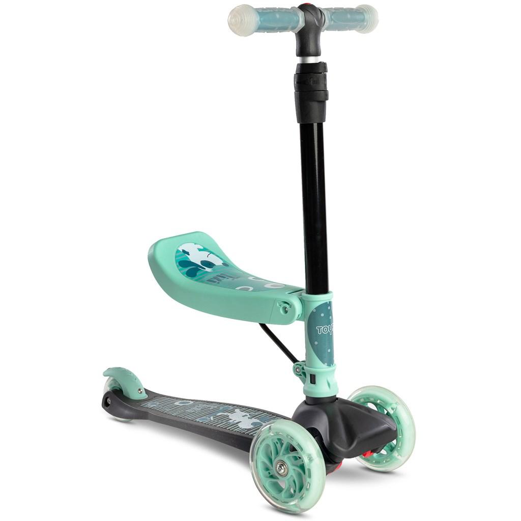 Dětská koloběžka Toyz Tixi - mint - zelená