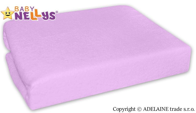 Nepromokavé prostěradlo 120x60cm - lila, fialové - 120x60