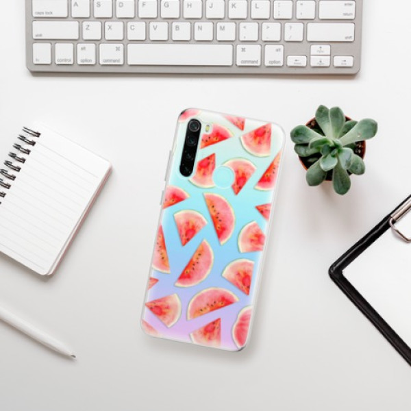 Odolné silikonové pouzdro iSaprio - Melon Pattern 02 - Xiaomi Redmi Note 8