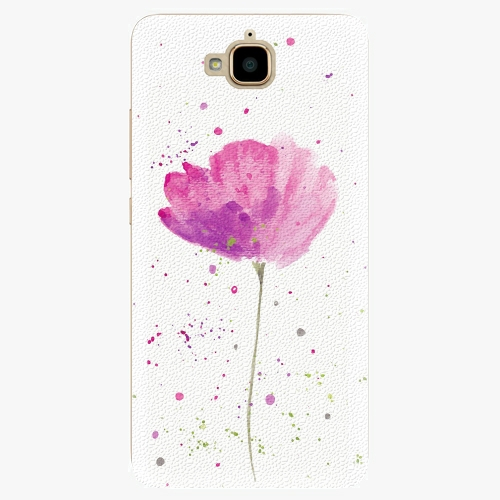 Plastový kryt iSaprio - Poppies - Huawei Y6 Pro