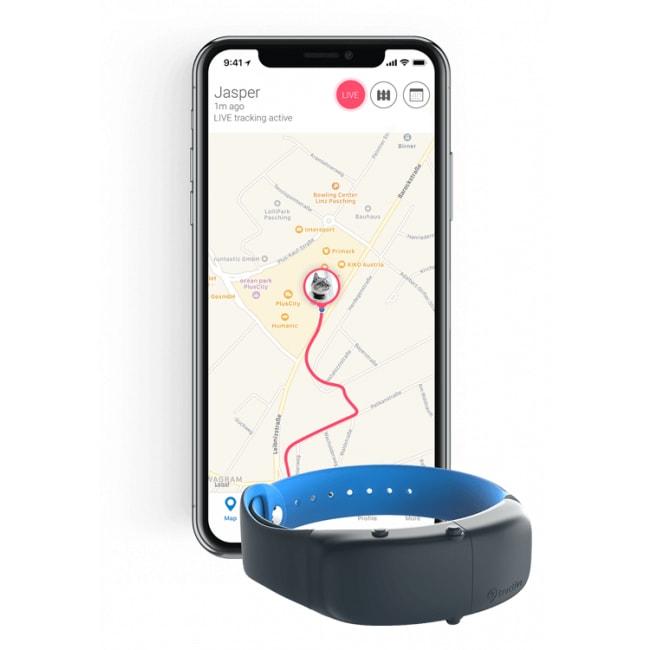 Tractive GPS obojek pro kočky s bezpečnostním mechanizmem