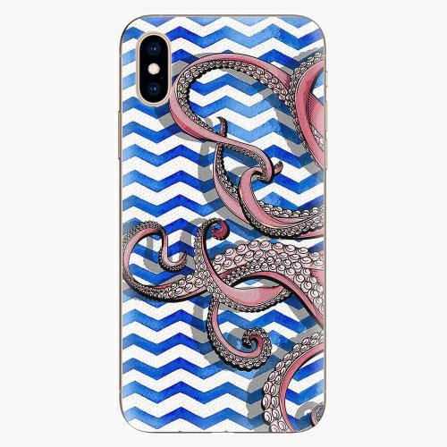 Silikonové pouzdro iSaprio - Octopus - iPhone XS