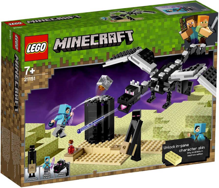 LEGO MINECRAFT Souboj ve světě End 21151