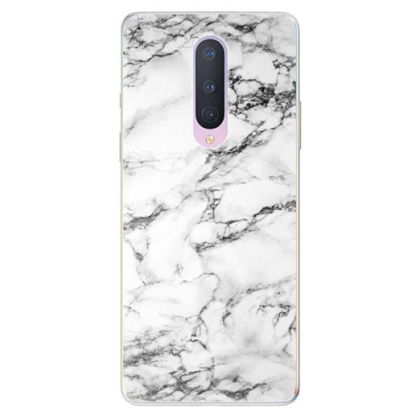 Odolné silikonové pouzdro iSaprio - White Marble 01 - OnePlus 8