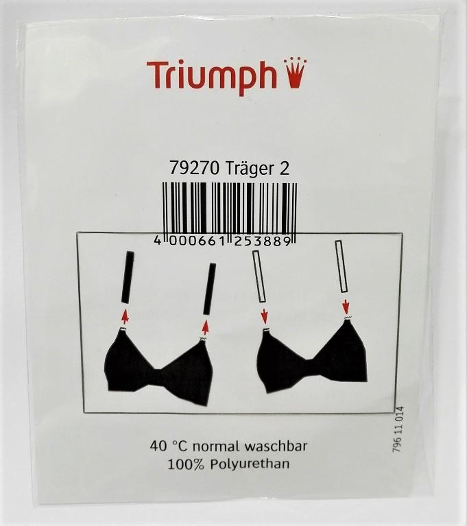 Silikonové ramínka Ersatztraeger Transparent 79270 X - Triumph - Režná (0099)/01