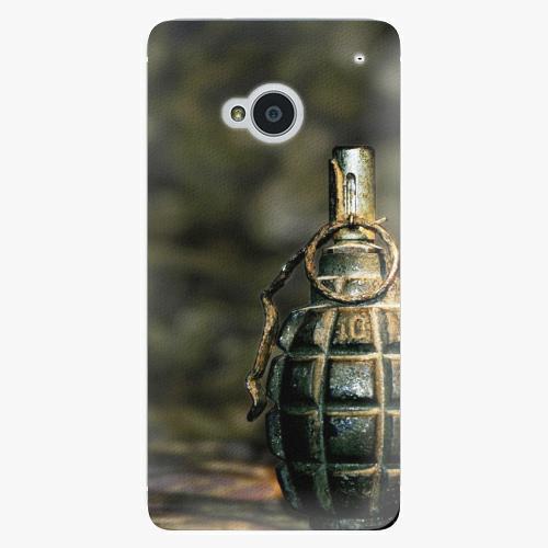 Plastový kryt iSaprio - Grenade - HTC One M7
