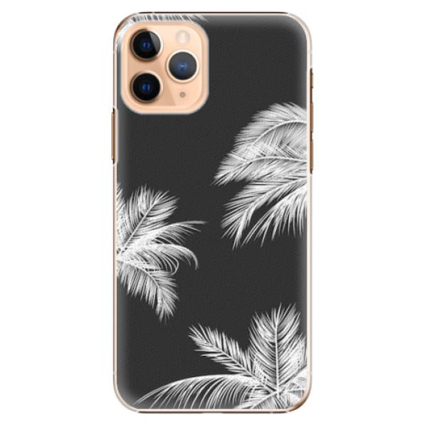 Plastové pouzdro iSaprio - White Palm - iPhone 11 Pro