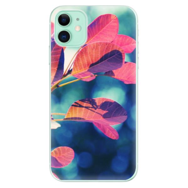 Odolné silikonové pouzdro iSaprio - Autumn 01 - iPhone 11