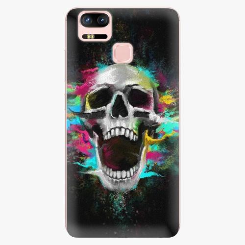 Plastový kryt iSaprio - Skull in Colors - Asus ZenFone 3 Zoom ZE553KL