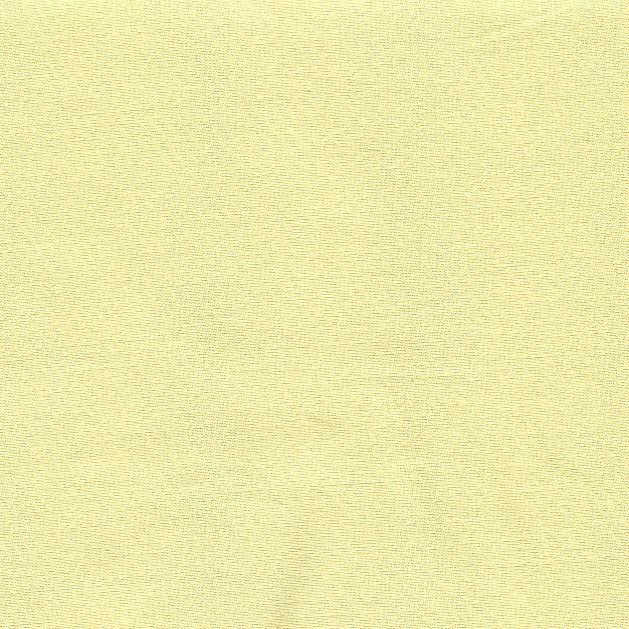 Napínací prostěradlo bavlněné 90x200cm světle žluté