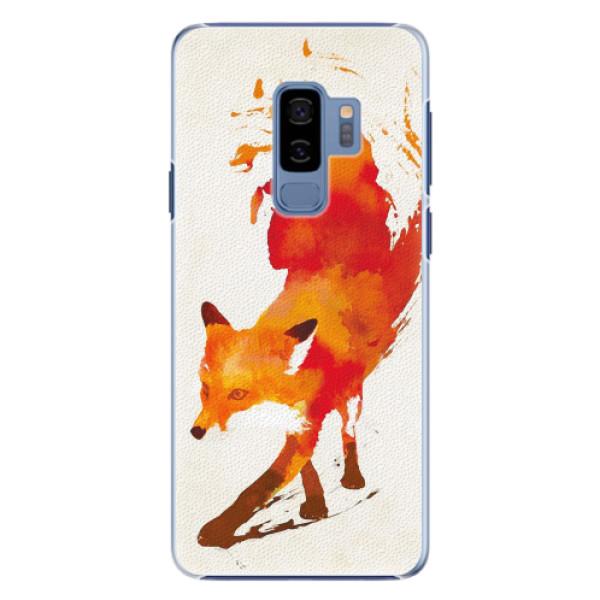 Plastové pouzdro iSaprio - Fast Fox - Samsung Galaxy S9 Plus