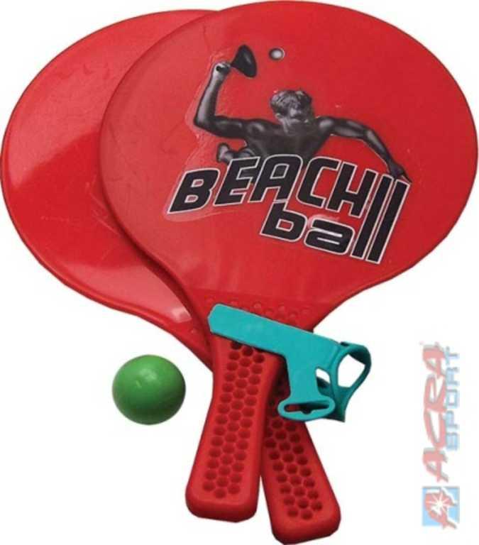 ACRA Beach Ball 2 pálky s míčkem plážový tenis