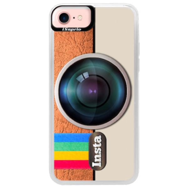 Neonové pouzdro Pink iSaprio - Insta - iPhone 7