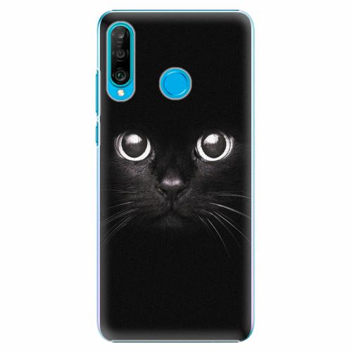 Plastový kryt iSaprio - Black Cat - Huawei P30 Lite