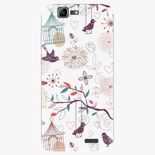 Plastový kryt iSaprio - Birds - Huawei Ascend G7
