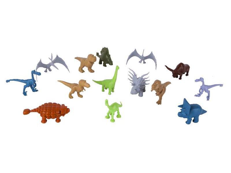 Hodný Dinosaurus - Dinosauri mix - plastové minifigurky 25 ks