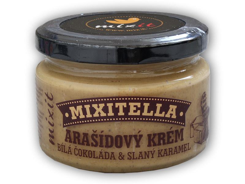 Mixitella Arašídy + slaný karamel 250g