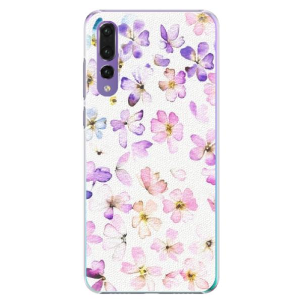 Plastové pouzdro iSaprio - Wildflowers - Huawei P20 Pro