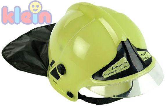 KLEIN Helma hasičská zelená POŽÁRNÍCI