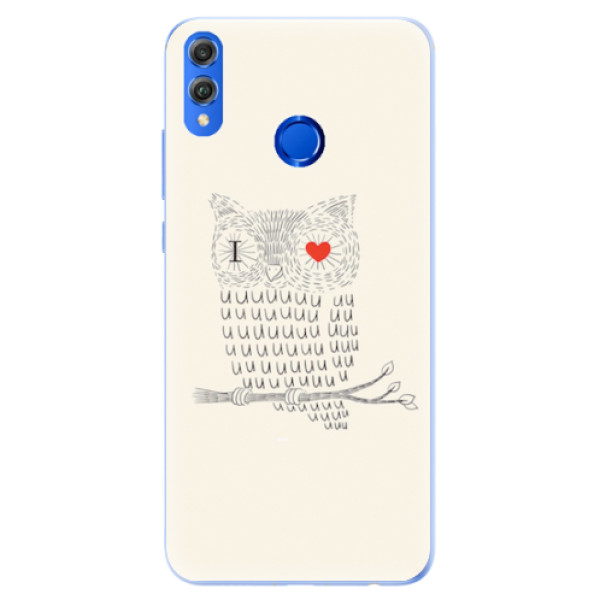 Silikonové pouzdro iSaprio - I Love You 01 - Huawei Honor 8X