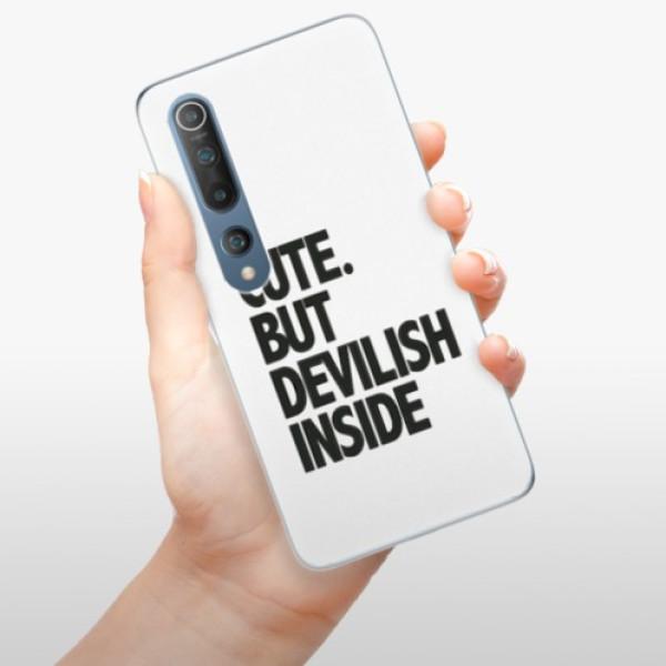 Odolné silikonové pouzdro iSaprio - Devilish inside - Xiaomi Mi 10 / Mi 10 Pro