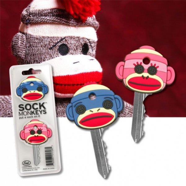 Ponožkové opice na klíče - Ponožkové opice