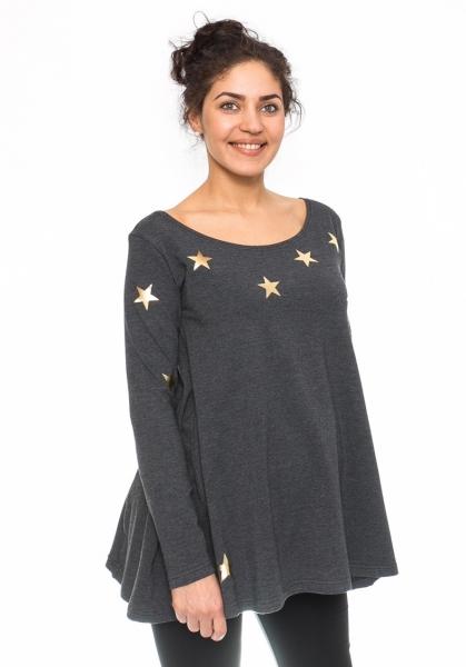 Těhotenská tunika volná Star
